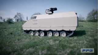 PMMC G5 Protected Mission Module Carrier G5 tracked vehicle FFG Germany German defence industry