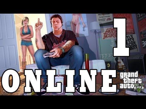 Let´s Play Grand Theft Auto 5 Online Part 1 - Charaktererstellung - GTA V Online Gameplay Deutsch