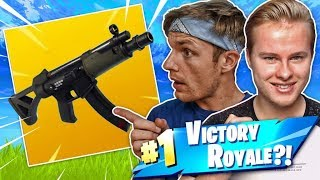 DE NIEUWE SUB MACHINE GUN TESTEN MET ENZO!! - Fortnite Battle Royale (Nederlands)