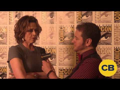 Aliens' Sigourney Weaver - SDCC 2016