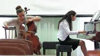 поппер тарантелла ре мажор для фортепиано и виолончели