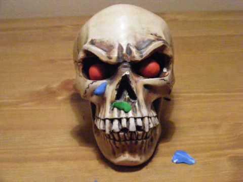 Skull stop frame animation thumbnail