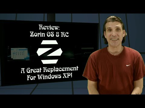 Zorin OS 8 RC A Great Replacement for Windows XP