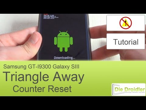 Samsung Galaxy S3: Counter Reset mit Triangle Away [Deutsch] [HD]