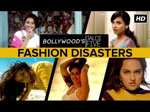 Bollywood's Female Fashion Disasters
