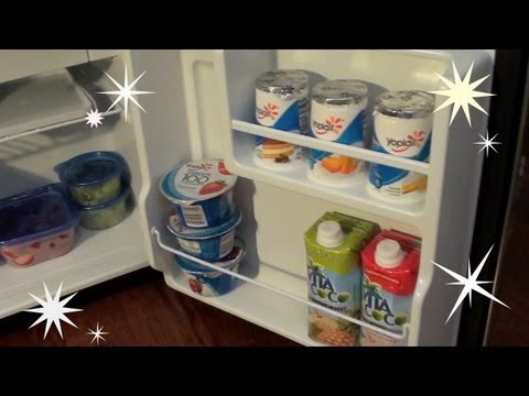 What's In My Mini Fridge?!