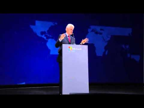 Full Bill Clinton Speech at the SharePoint 2014 Conference