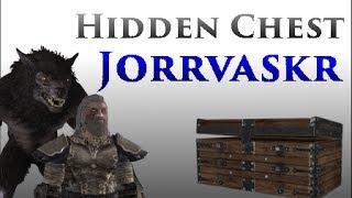 Skyrim: Hidden Chest In The Jorrvaskr