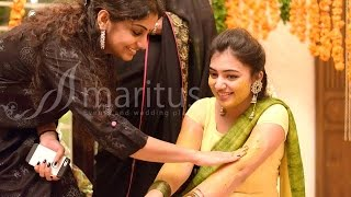 Nazriya Nazim Mehendi and Haldi Ceremony.......