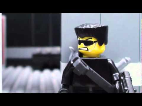 Game Thủ net   Nhân vật LEGO cũng biết bắn súng   Nhan vat LEGO cung biet ban sung