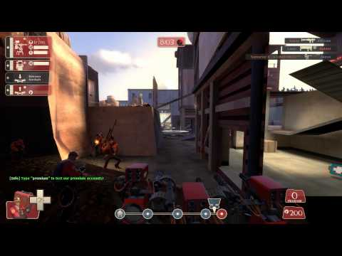 Team Fortress 2 Griefing: Map Exploitin'