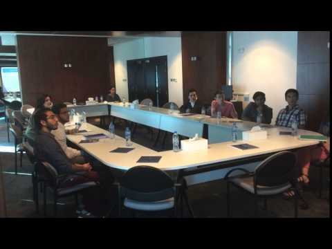 Islamic Finance students in  Rochester Institute of Technology during their visit to  IFM