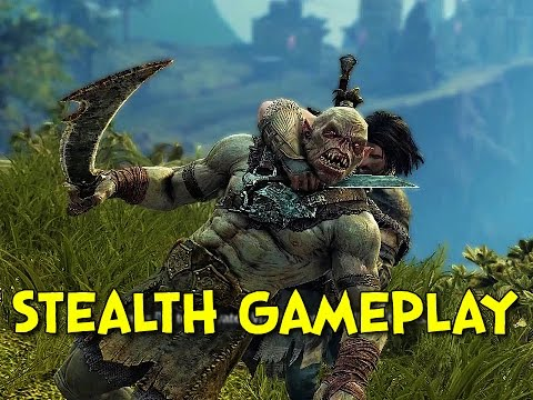 Shadow of Mordor: Stealth Gameplay Commentary!