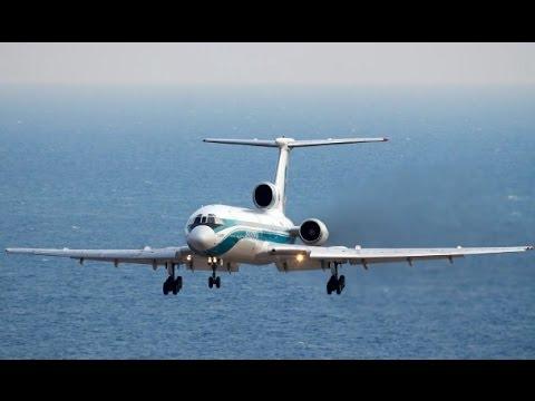 ТУ-154 Причины по которым упал Самолет  в море