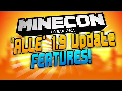 Minecraft 1.9 COMBAT UPDATE & END UPDATE - Minecon 2015! NEWS | CraftingPat