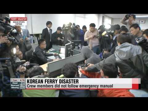 Korean ferry disaster Friday updates