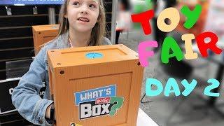 Maya Gets Sick at Toy Fair