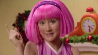 Lazytown bing bang christmas version widescreen high quality