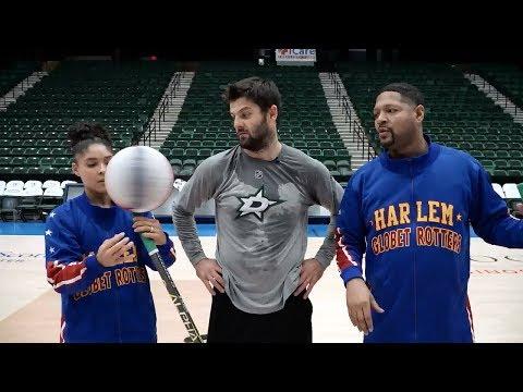 Александр Радулов в гостях у баскетбольного шоу «Harlem Globetrotters»