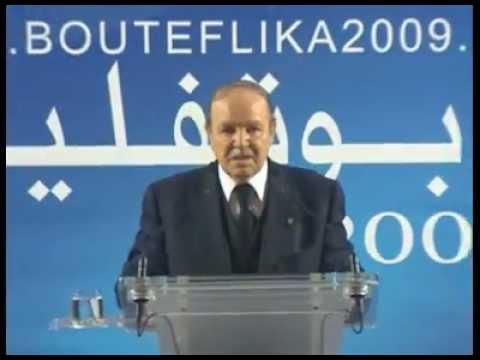 Abdelaziz Bouteflika Meeting Populaire dans la Wilaya de TIZI OUZOU