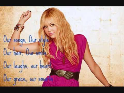 Hannah Montana- Let's Get Crazy (lyrics)
