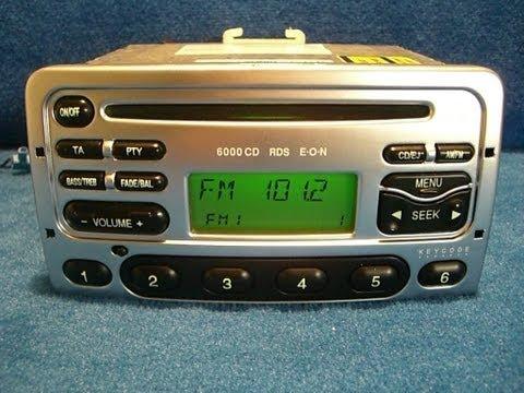 Ford 6000 CD / Radio Autoradio carradio car 97FP-18C815-DA / http://www.schwab-onlineshop.de