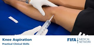 Knee Aspiration | Practical clinical skills