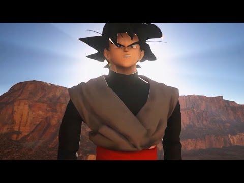 Dragon Ball Unreal (Demo) - Goku Black Revealed! NEW Maps, Characters & Sound System! (Goku Black)