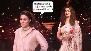 Kajol Shows ATTITUDE To Maduri Dixit When Media Asks For Photograph Together On Dance Diwaane Sets