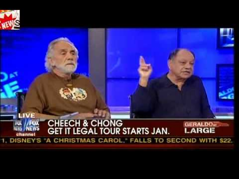 Ann Coulter Debates Cheech & Chong About Legalizing Marijuana
