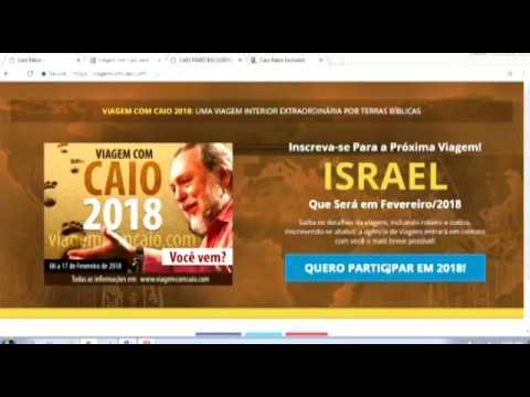 Participe da Viagem com Caio a Israel 2018. Veja o depoimento da Leninha!