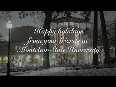 Holiday Greetings from Montclair State University 2012