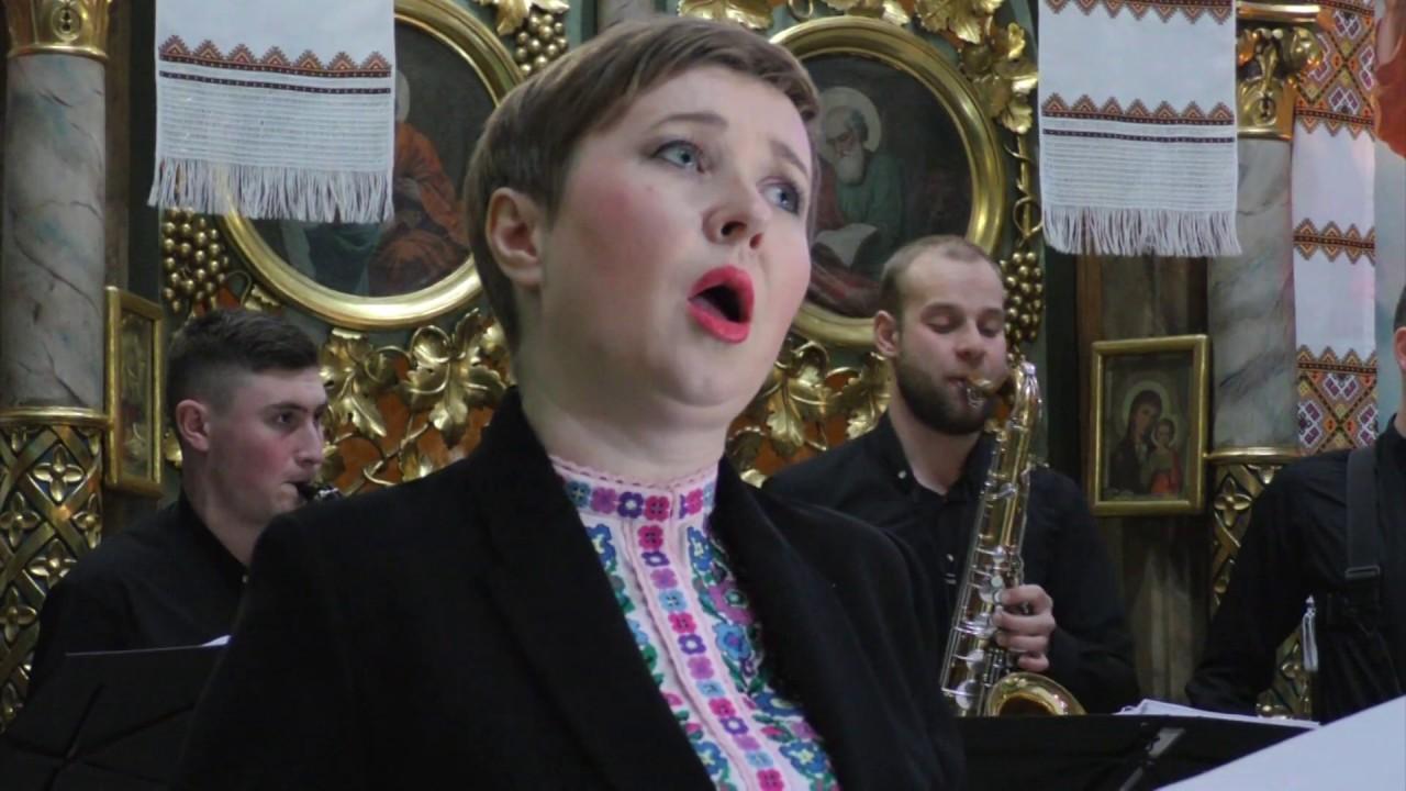 У калуському храмі зазвучали опера та саксофон