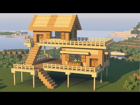 Minecraft: How to Build a Small Starter House - Easy Tutorial