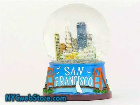 San Francisco Snow Globe