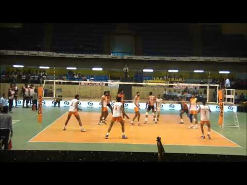 64th Indian National Volleyball Championship: Best players in action