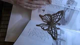 как сделать объёмную бабочку из шоколада