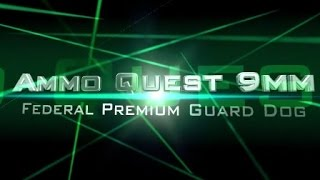 Ammo Quest 9mm: Federal Guard Dog tested in ballistic gel and through walls