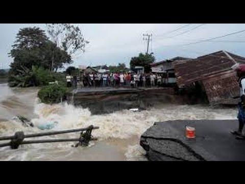 Berita 18 September 2015 - VIDEO Aceh Dilandar Banjir Hebat, Dua Jembatan Ambruk