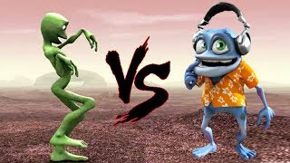 Alien Dance VS Crazy Frog .