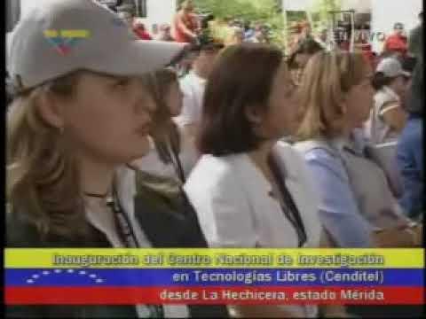 Presidente Chávez sobre el Software Libre (2)