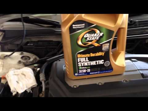 2002-03 Acura TL Type S - How to Change Your Oil and Filter