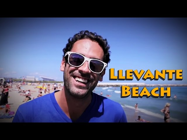 Barcelona Beach Profile #5: Llevante Beach