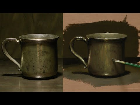 how to paint in oil