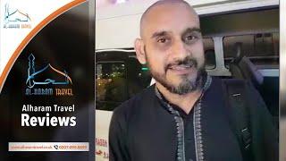 Happy Customer Reviews of Alharam Travel – Irshad Pareen