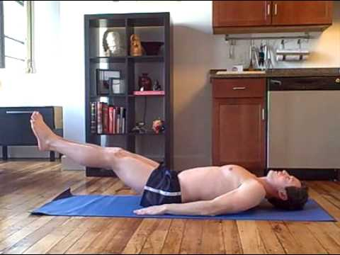 Kick Workout ab Workout Scissor Kicks