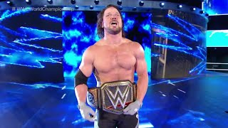 WWE Backlash 2016 FULL SHOW 9/11/16 Results | AJ Styles Wins WWE World Championship