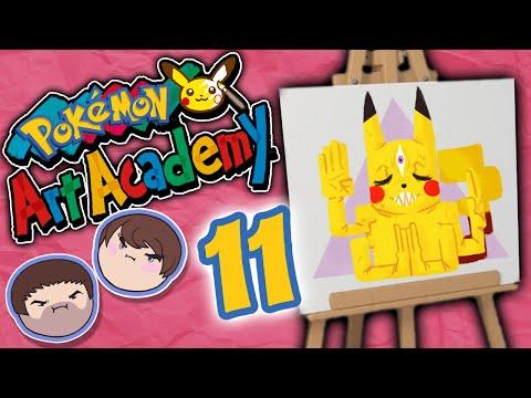 Pokemon Art Academy: Good Grief - PART 11 - Grumpcade