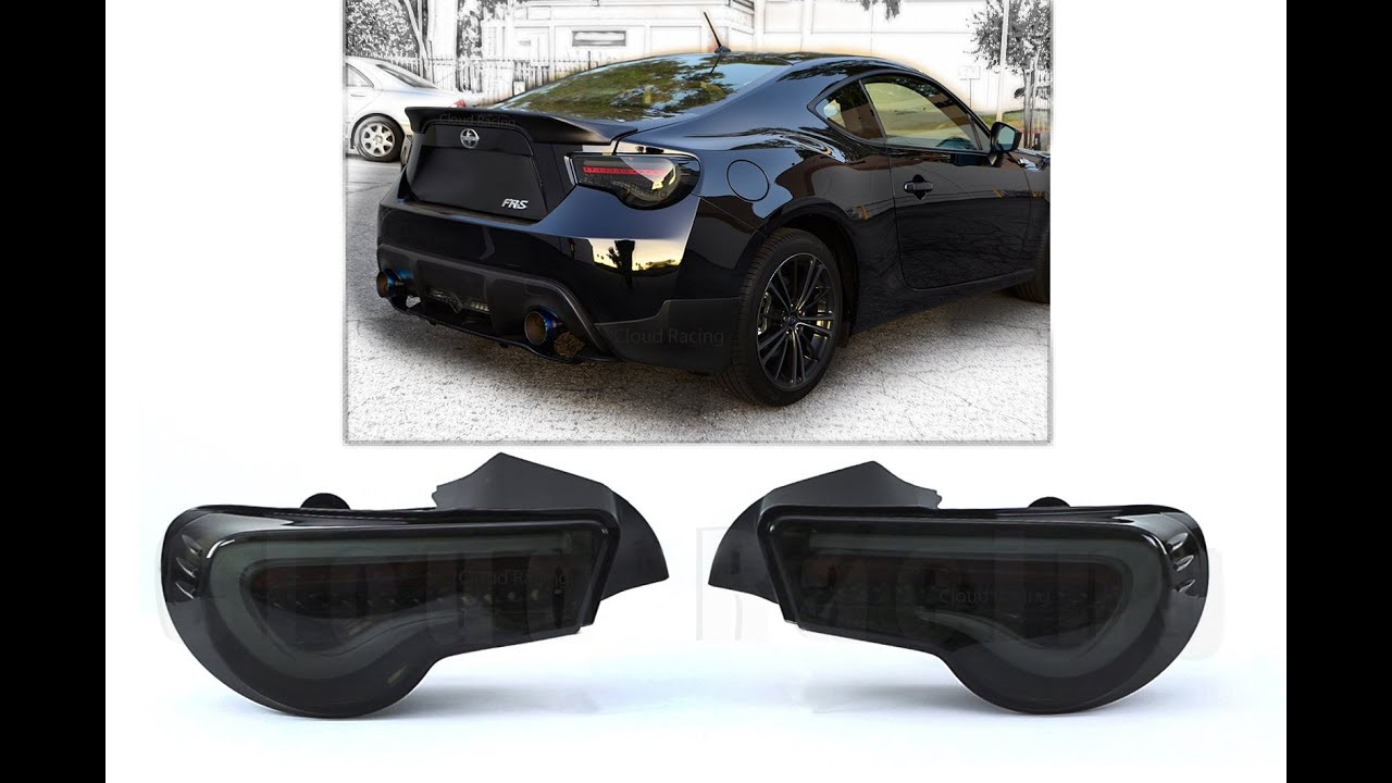 "Subaru Brz 2014 >> eBaySeller""Cloud-Racing"":Scion FRS GT86 Subaru BRZ LED Red Rear Tail Light Smoke Lens Black ..."