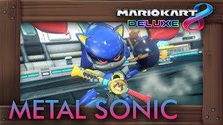 Mario Kart 8 Deluxe - Playable Metal Sonic